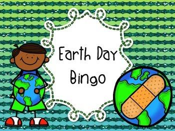 Earth Day Bingo 3rd 4th 5th 6th 7th 8th grade