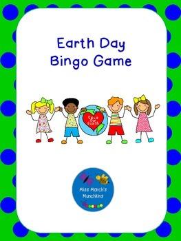 Earth Day Go Green Bingo