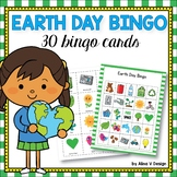 Earth Day Bingo Game - Earth Day Activities for Kindergarten