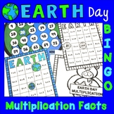 Earth Day Multiplication Facts:  Bingo