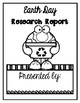 Earth Day Research/Report Booklet