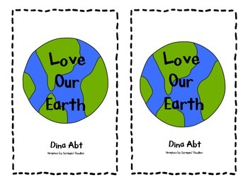 Earth Day Book & Worksheet, K, 1st