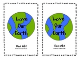 Earth Day Book & Worksheet, K, 1st
