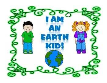 Earth Day Book and Badge