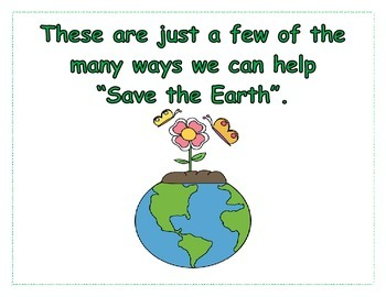 Earth Day Book (including seven activities, worksheets, and projects)