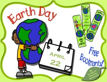Earth Day Bookmarks!