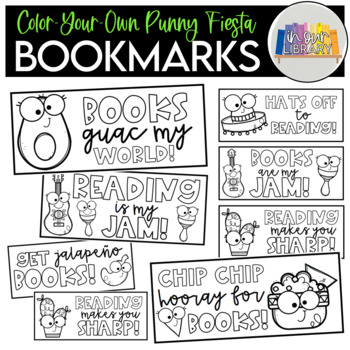 Punny Fiesta Bookmarks