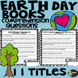 Earth Day Books Comprehension Questions