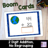 Earth Day Boom Cards for Distance Learning | 2 Digit, No R