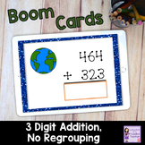 Earth Day Boom Cards for Distance Learning | 3 Digit, No R