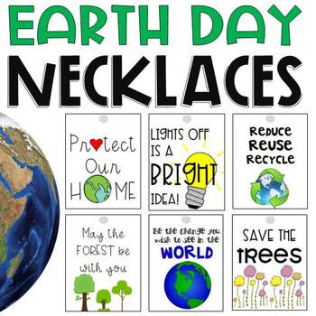 Earth Day Necklaces