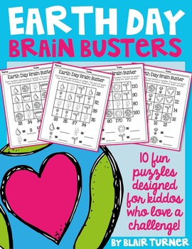 Earth Day Brain Busters: Math Logic Problems