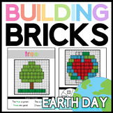 Earth Day Brick Building Mats: Math & Reading Activities