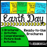 Earth Day Brochure Tri-folds | Distance Learning