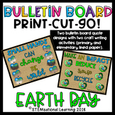 Earth Day Bulletin Board Set and Writing Activities {Print