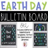 Earth Day Bulletin Board Templates