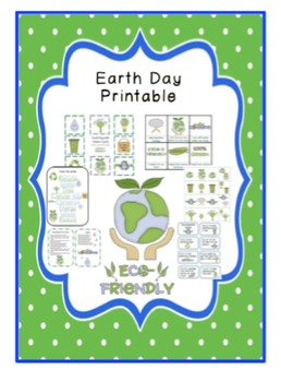 Earth Day Bundle 3 Printables and 89 Pages