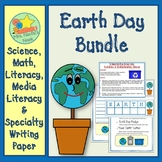 Earth Day Activities  - Math Games, Writing Activities and Writing Paper