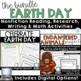 Earth Day Reading and Writing Activities with Digital