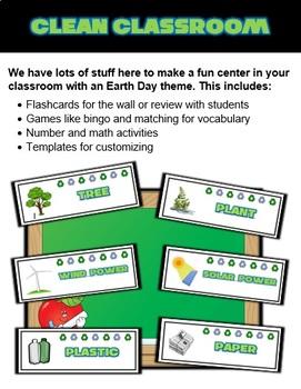 Earth Day Classroom Center Activity Bundle