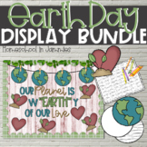 Earth Day Bundle - Bulletin Board & Creative Writing Display