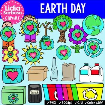 Earth Day Bundle {Clip Art for Teachers}