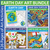 Earth Day Bundle - Coloring Pages and Art Activities
