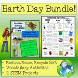 Earth Day Bundle: 2 Sorts , Vocabulary application, and 2