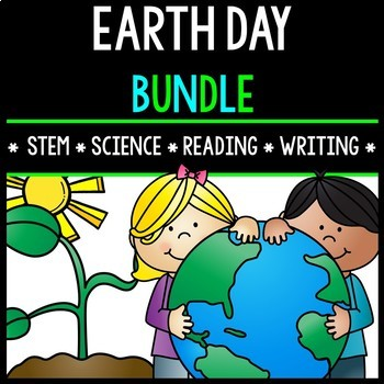 Earth Day Bundle - Special Education - STEM - Oil Spill - Life Skills - Mobile