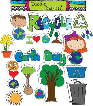 Earth Day COMBO Clipart