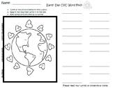 Earth Day CVC Word Find