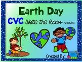 Earth Day CVC Write the Room