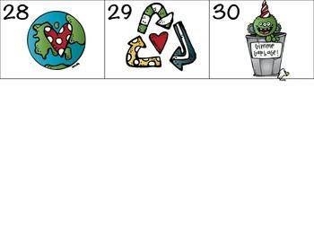 Earth Day Calendar Pieces