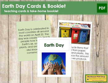 Earth Day Cards and Booklet