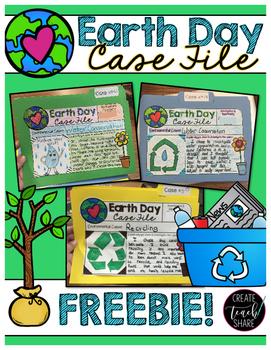 Earth Day Case File FREEBIE