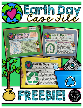 Earth Day Case File FREEBIE