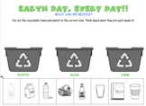 Earth Day Categorizing-- Speech Therapy