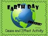 Earth Day - Cause and Effect Freebie