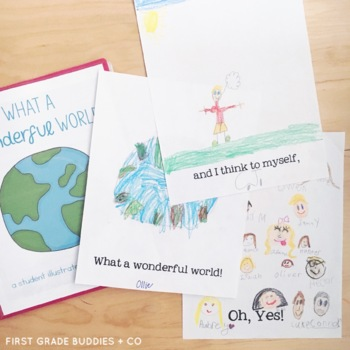 Earth Day Activities | Wonderful World Class Book | Printable Sheets