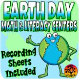 Earth Day Centers Activities Literacy Math Fine Motor Visu