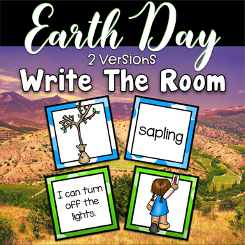 Earth Day Centers - Write the Room