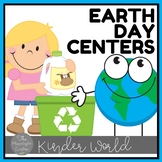 Earth Day Centers for Pre-K and Kinders