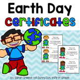 Earth Day Certificate!