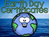 Earth Day Certificates + BONUS