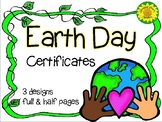 Earth Day Certificate-Free!