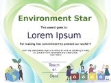 Earth Day Certificate_v02