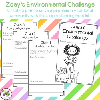 Earth Day Challenge: A Companion to the Zoey and Sassafras books