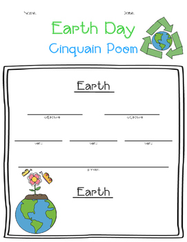 Earth Day Cinquain Poem