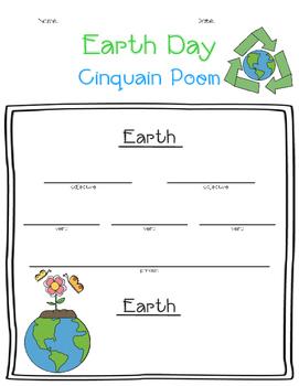 Earth Day Cinquain Poem