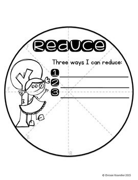 Earth Day Circle Book: Reduce, Reuse, Recycle